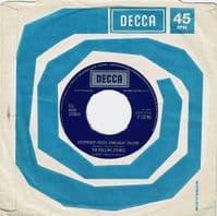 THE ROLLING STONES Street Fighting Man EP Vinyl Record 7 Inch Decca 1971